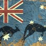Vintage Australian Flag — Stock Vector #15857155