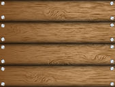 Realistic wood texture — Stock Vector