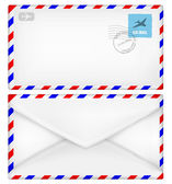Zarf posta damgası — Stok Vektör