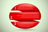 Infographics design template — Stock Vector