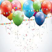Fondo de cumpleaños — Vector de stock