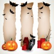 Halloween vertical banners — Stock Vector #12105756