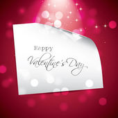 Valentine's Day greeting card — Vector de stock