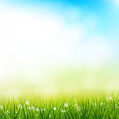 春の背景 — ストックベクタ