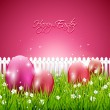 Sweet Easter background — Imagen vectorial