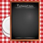 Restaurant menu background — Stock Vector