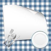 ресторан фон — Cтоковый вектор
