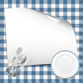 Restaurant background — Vettoriale Stock
