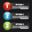 Options — Vector de stock #19748241