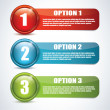 Options — Vector de stock #19748261
