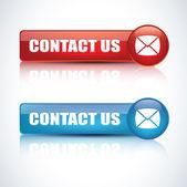 Neem contact op met ons — Stockvector