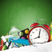 σχολείο του φόντου — Διανυσματικό Αρχείο