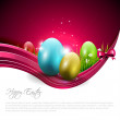 Easter modern background — Stock Vector