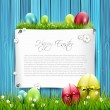 Easter greeting card — Stock Vector #26501065