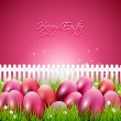 Vector de stock : Easter background