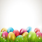 Modern Easter background — Stock Vector