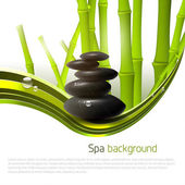 Spa background — Vector de stock