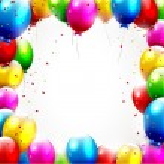 Colorful birthday backgroun — Stock Vector #26566091