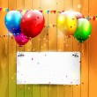 Stockvektor : Birthday background