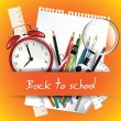Back to school background — Stock Vector #26567115