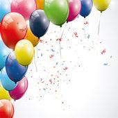 Fond d'anniversaire — Vecteur