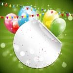 Birthday background — Stock Vector