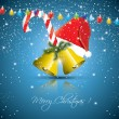 Christmas greeting card — Stockvectorbeeld