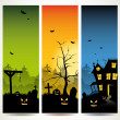 Halloween vertical banners — Stock Vector #26575979