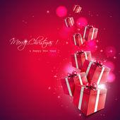 рождественские подарки — Cтоковый вектор