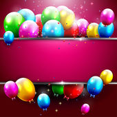 Luxury birthday background — Vector de stock