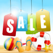 Summer sale — Vector de stock #28683731