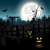 Halloween-hintergrund — Stockvektor