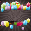 Sweet birthday background — Stock Vector #30607519