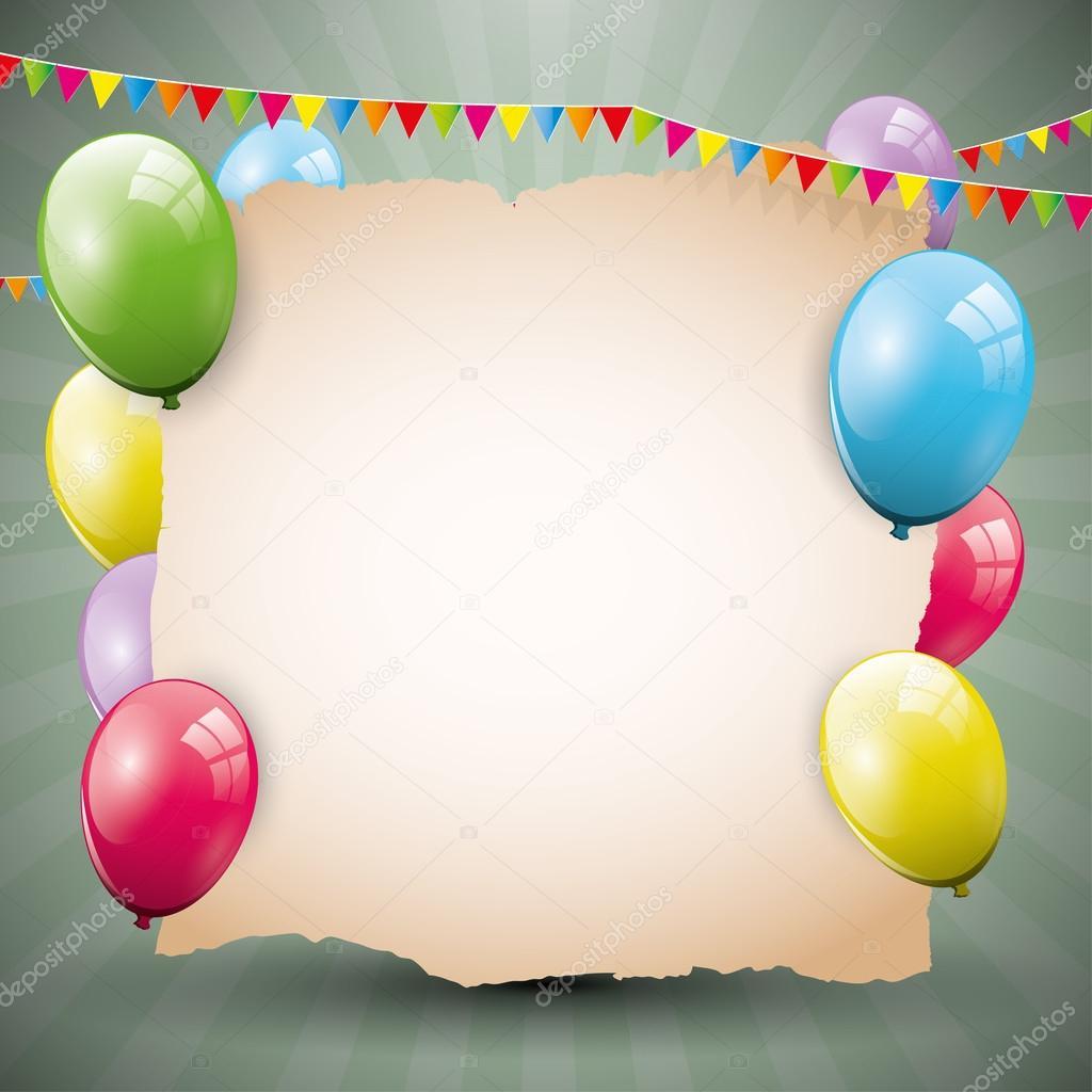 Бесплатные открытки и рамки на День Рождения с вашим фото 15