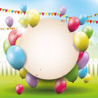 Birthday background — Stock Vector #31399327