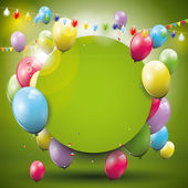 Birthday background — Vettoriale Stock