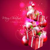 фон рождество — Cтоковый вектор