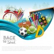 Back to school — Vector de stock #31550489