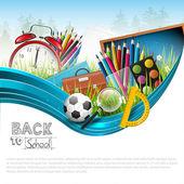 Powrót do szkoły — Wektor stockowy