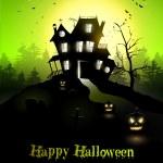 Halloween poster — Stock Vector