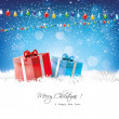 Christmas greeting card — Vector de stock #32500841