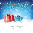 Christmas greeting card — Wektor stockowy #32500841