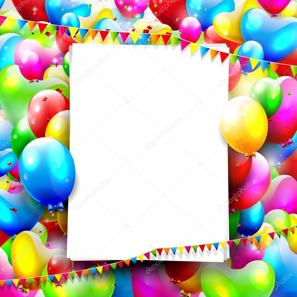 Музыка фон для поздравления с днем рождения
