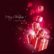 Modern Christmas greeting card — Stock Vector #33611335