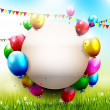 Birthday party — Vector de stock #33611409
