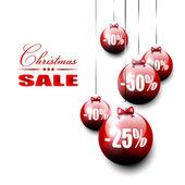 Kerstmis verkoop — Stockvector