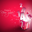 Happy New Year 2014 — Vector de stock #35082679