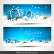 Christmas banners — Stock Vector