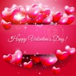 Valentine's Daygreeting card — Stock Vector