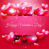 Valentine's Daygreeting card — Vector de stock